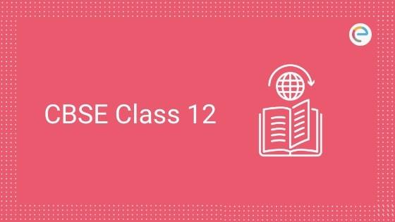 CBSE Class 12