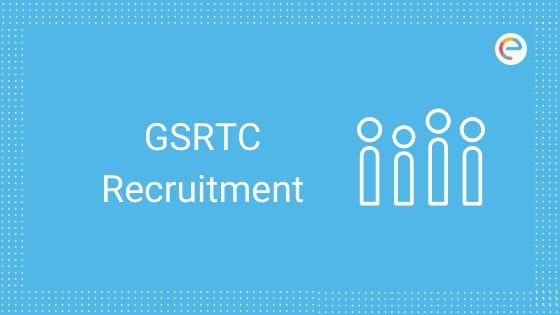 gsrtc recruitment