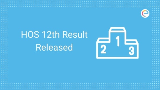HOS Result Class 12 Released embibe
