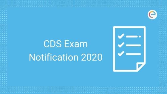 CDS Exam Notification
