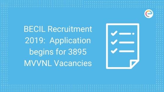 BECIL Recruitment 2019 embibe