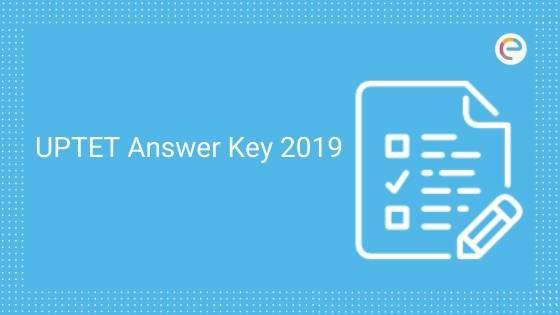 UPTET Answer Key 2019