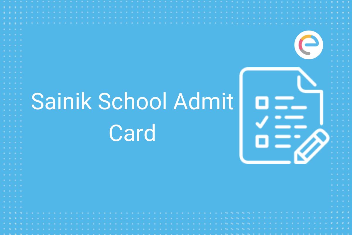 sainik school admit card