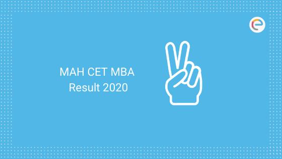 MAH CET MBA Result 2020