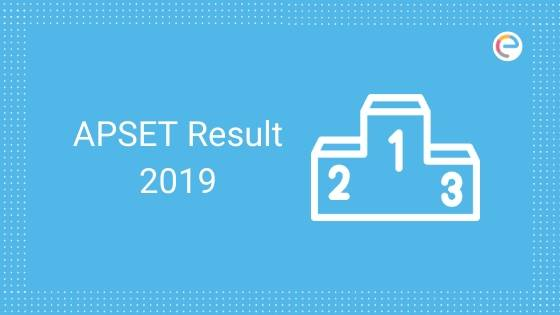APSET Result 2019 embibe