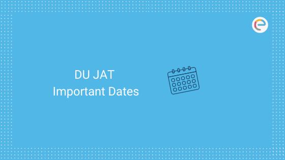 DU JAT Important Dates
