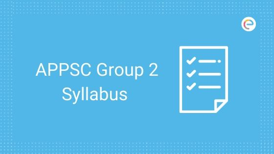 APPSC Group 2 Syllabus