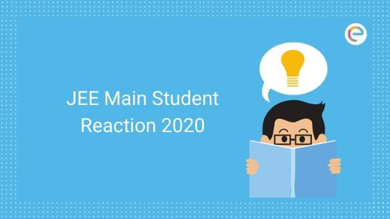 JEE Main Student Reaction 2020