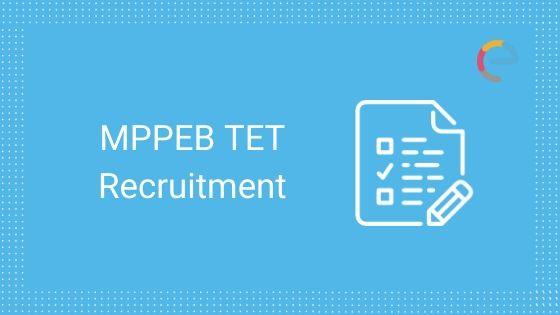 MPPEB TET Recruitment