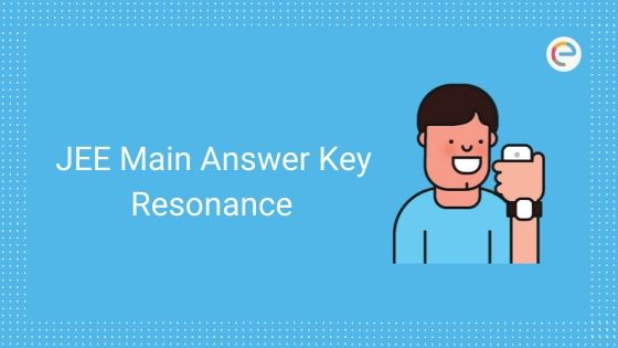 JEE Main Answer Key Resonance