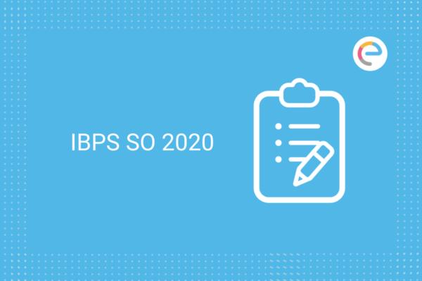 IBPS SO 2020
