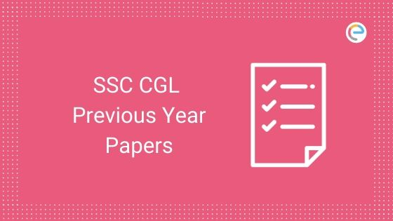 ssc cgl previous year paper