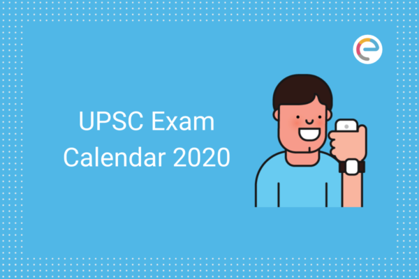 UPSC Calendar 2020 embibe