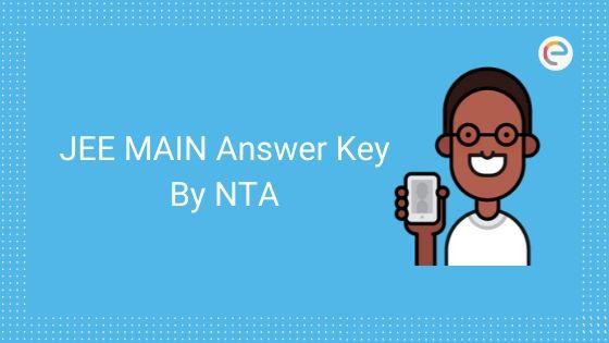 jee main answer key nta