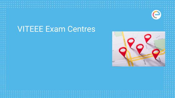 VITEEE Exam Centres