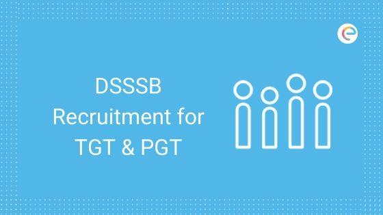 DSSSB Recruitment for TGT & PGT