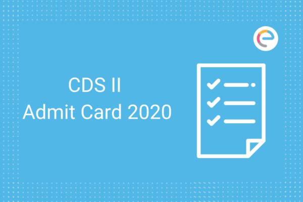 CDS II Admit Card 2020