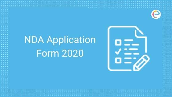 NDA Application Form 2020 embibe