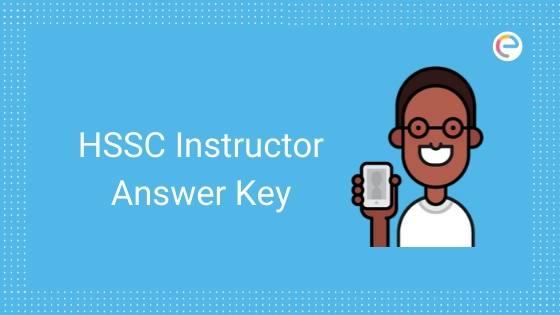 hssc instructor answer key