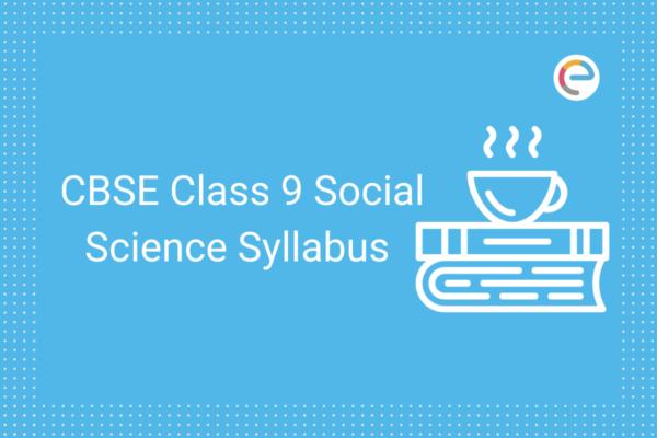 cbse class 9 social science syllabus