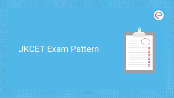 JKCET Exam Pattern