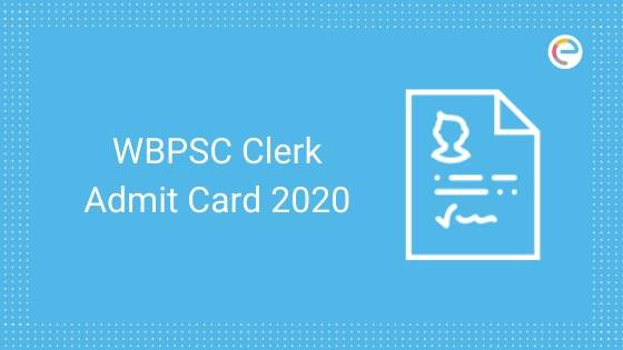 WBPSC Admit Card 2020 embibe