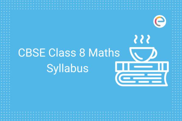 cbse class 8 maths syllabus