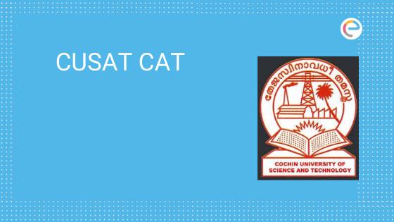 CUSAT CAT