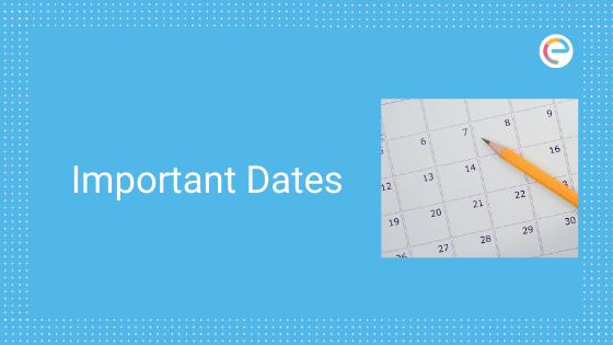 EFLU important Dates 2020