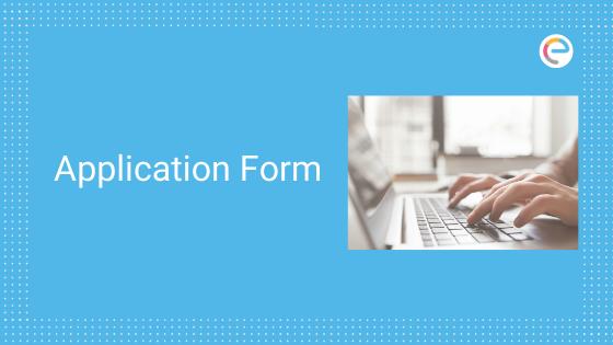 JET Application Form