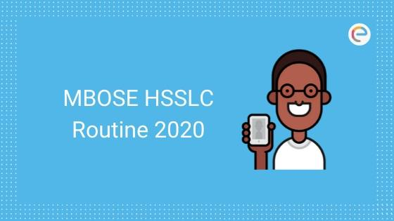 MBOSE HSSLC Routine 2020 PDF Released (Arts, Commerce, Science)| Download Meghalaya Board Class 12 Time Table @ mbose.in