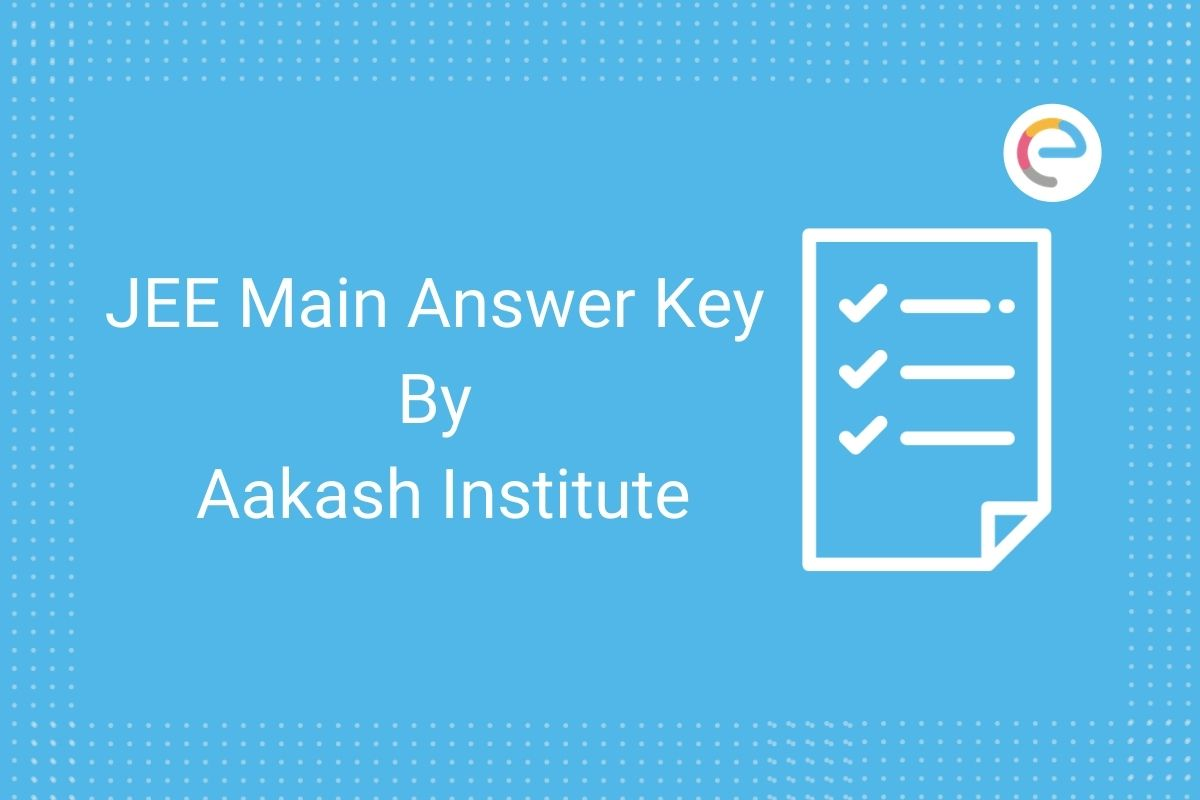 JEE Main Answer Key Aakash