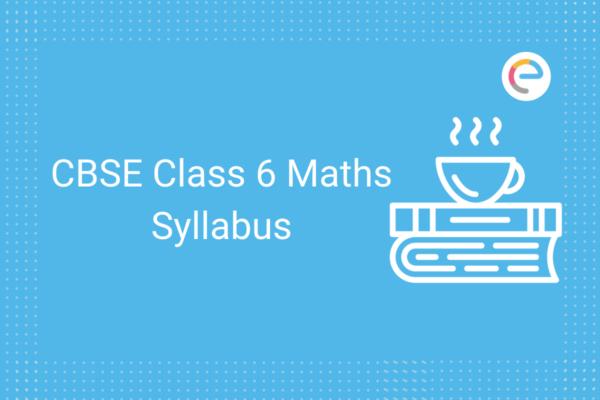 cbse class 6 maths syllabus