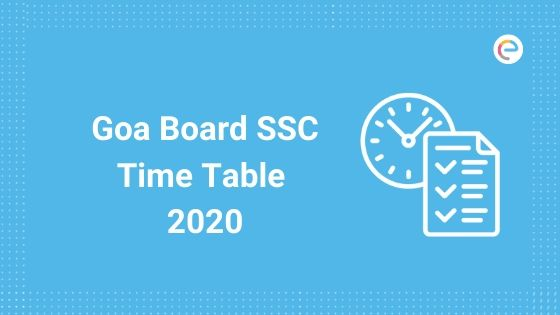 Goa Board SSC Time Table (Revised) 2020: Check GBSHSE 10th Date Sheet