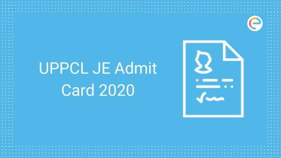 UPPCL Admit Card 2020 JE embibe