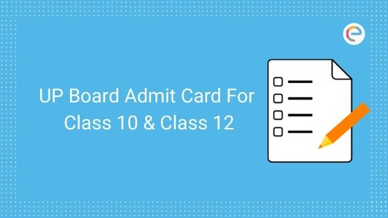 up board class 10 and class 12 admit card