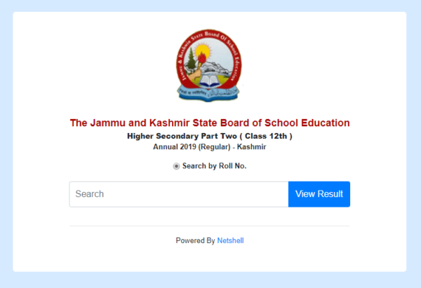 JKBOSE-Result-Official-Website