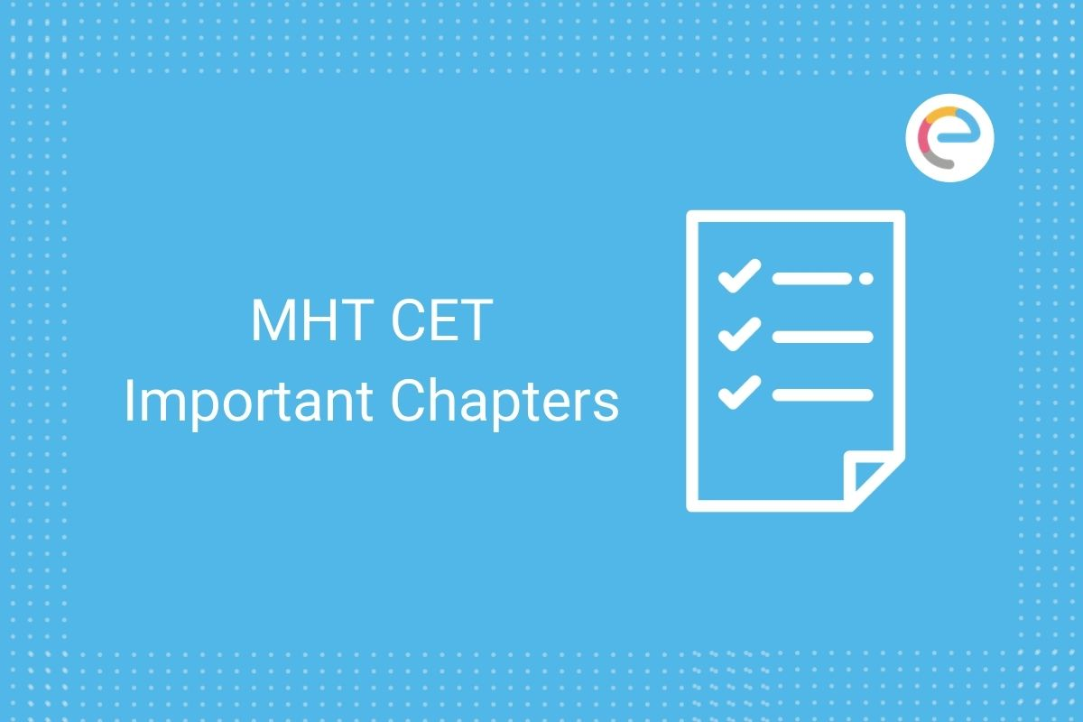 MHT CET Important Chapters