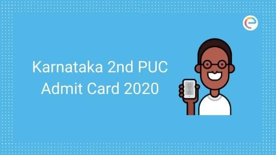 Karnataka 2nd PUC Hall Ticket 2020 embibe