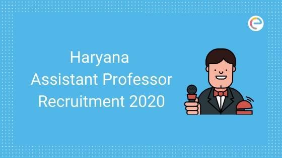 HPSC Reruitment 2020 Haryana Assistant Professor