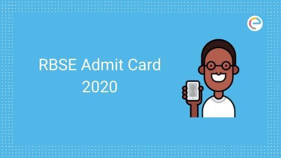 RBSE Admit Card 2020 embibe