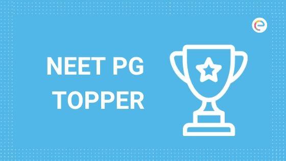 NEET PG Topper