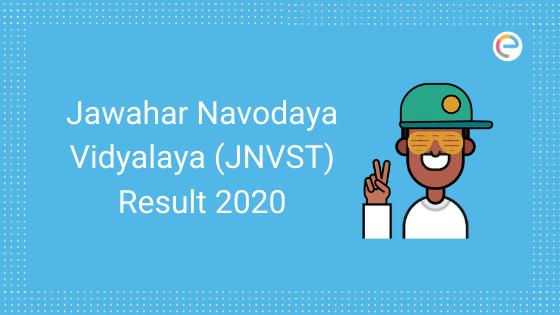Jawahar Navodaya Vidyalaya Result or JNVST Result 2020