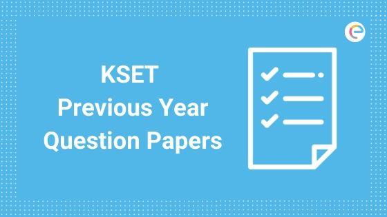 KSET Question Paper