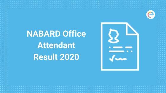 NABARD Office Attendant Result