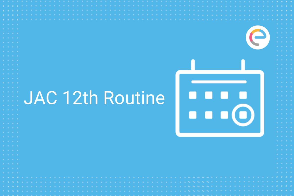 jac 12th routine