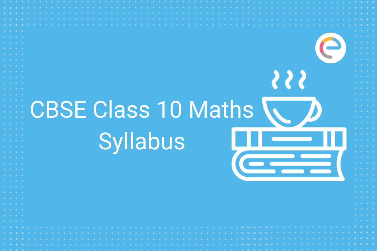 cbse class 10 maths syllabus