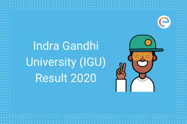 IGU Result 2020 embibe