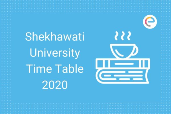 Shekhawati university time table
