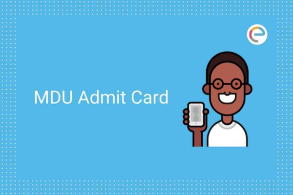 MDU Admit Card 2020 Embibe